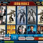 Iron Man 2 – Slot von Playtech
